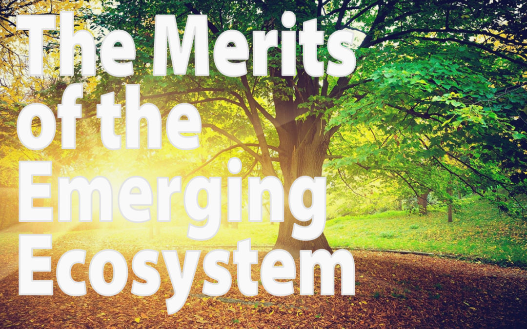The Merits of the Emerging Ecosystem