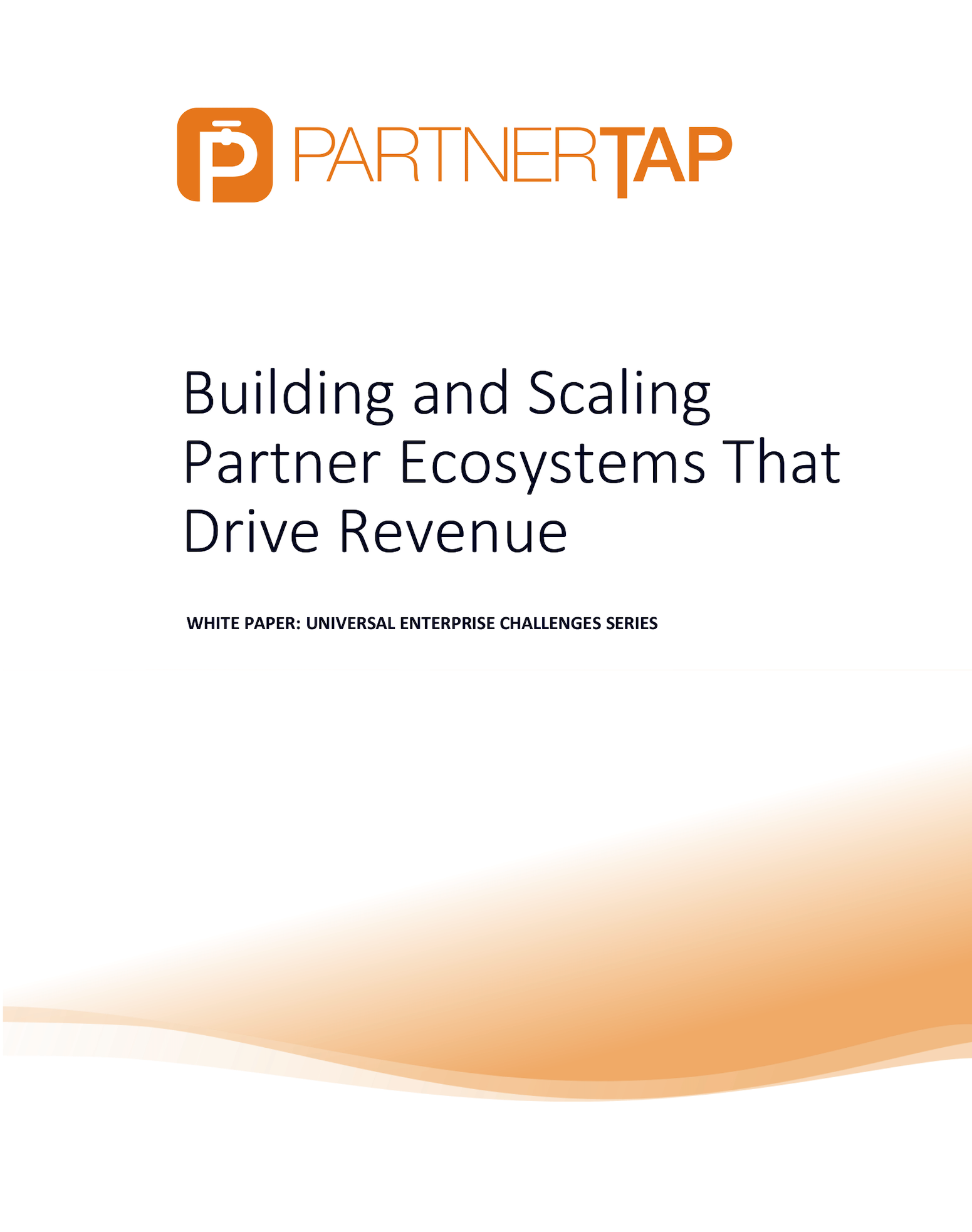 Building Partner Ecosystems Whitepaper