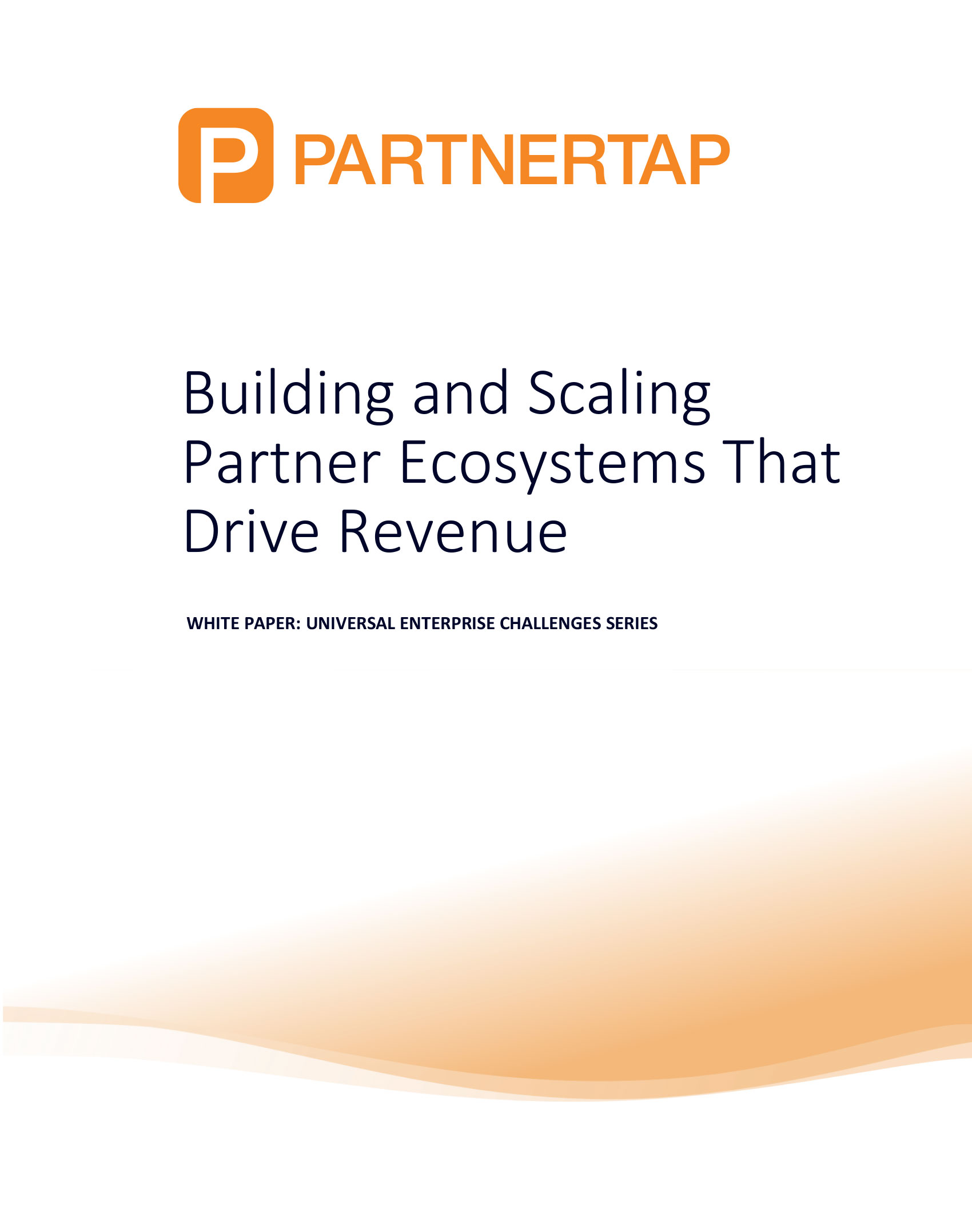 Building and Scaling Partnerships White paper Graphic