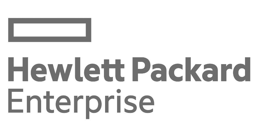 HPE grey logo