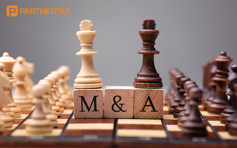 Two queens on M&A pieces